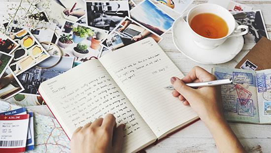 travel journal tea