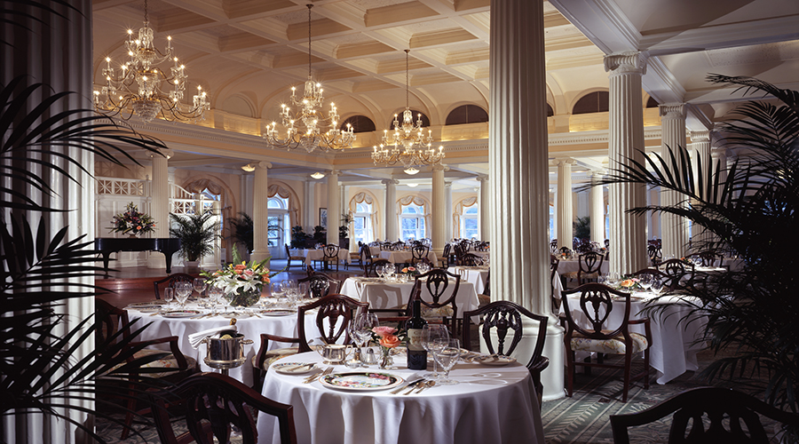 Omni Homestead Resort Dining Room resized