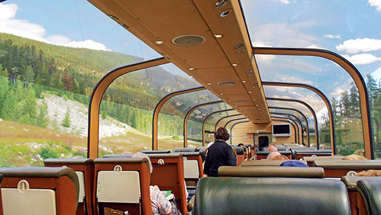 rail interior