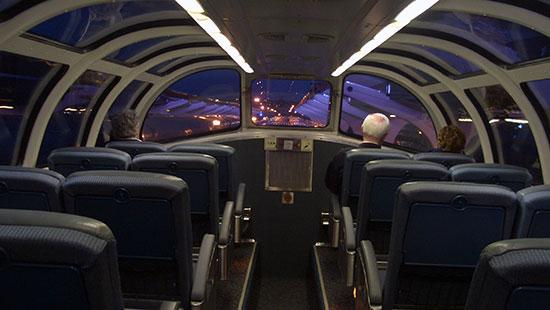 train interor