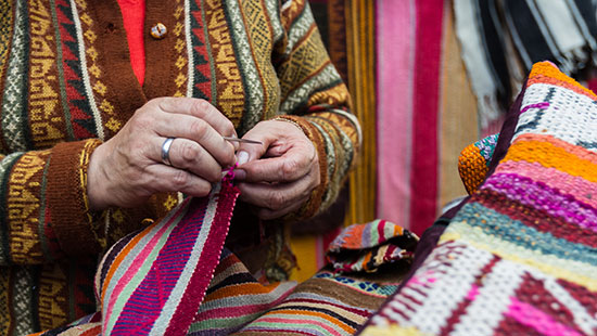 Andean Textiles Peru