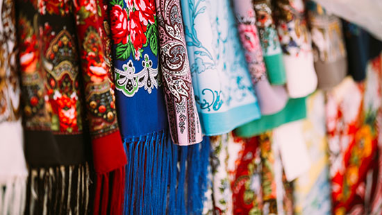 scarf market m 121440891