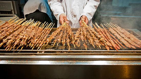 china chuanr kebab streetfood