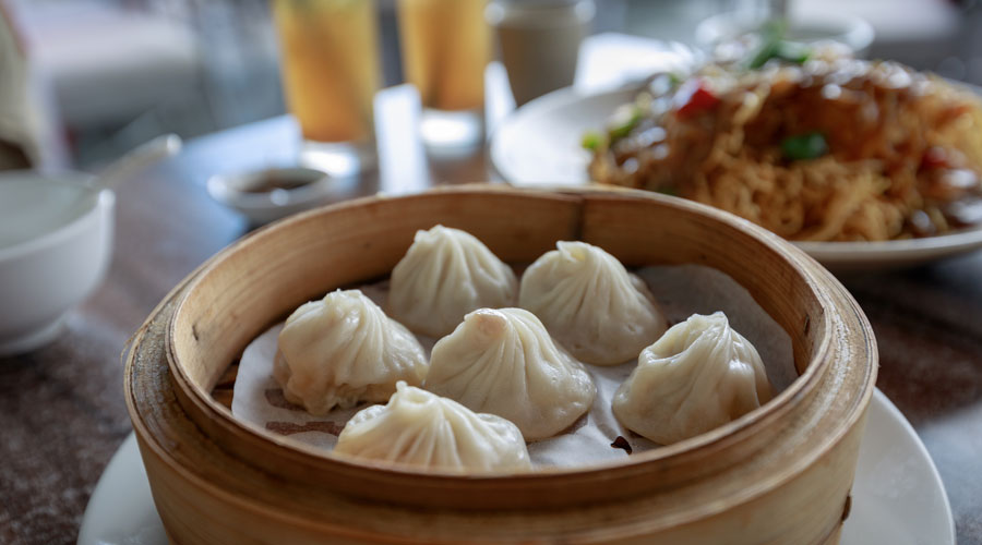 Chinese Food Dumplings