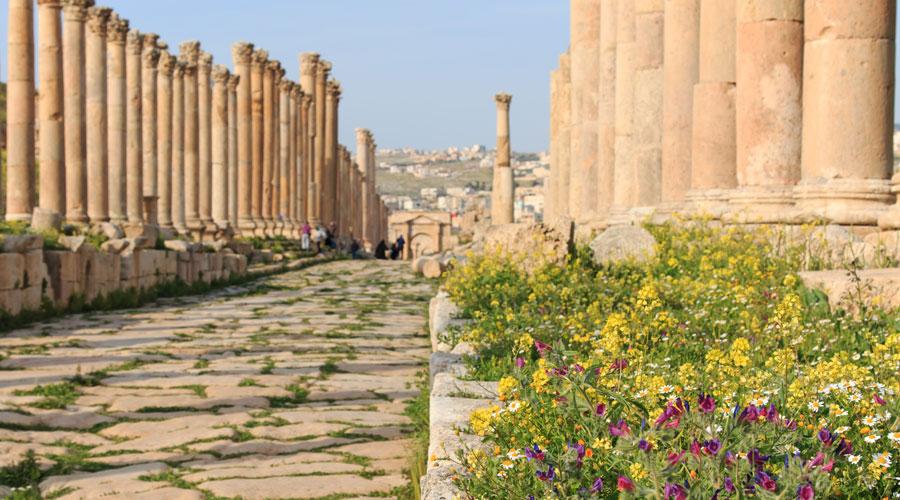 Tour Jerash Jordan