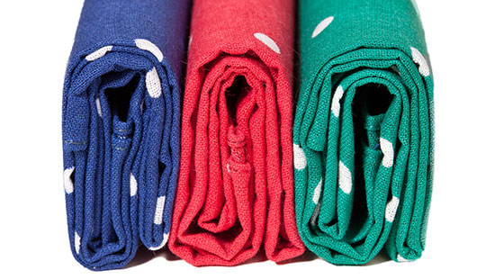 neat folded clothes