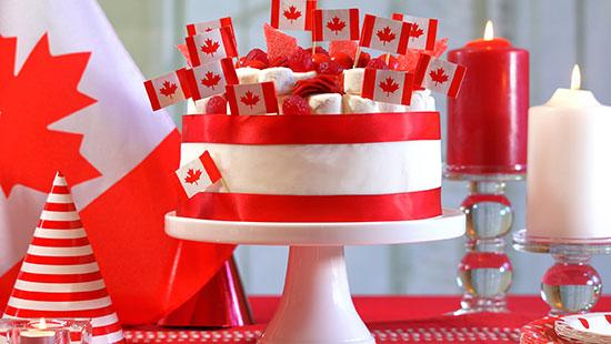 CanadaDayDecorations