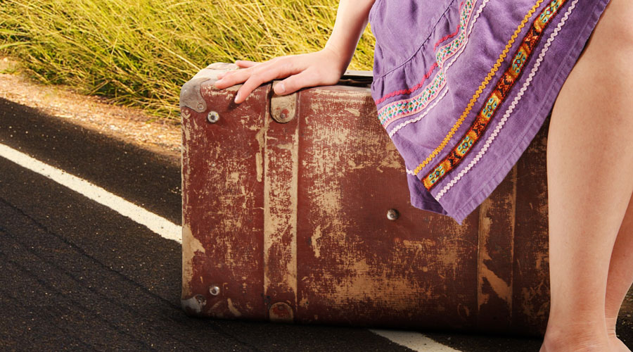 How to live out of a suitcase