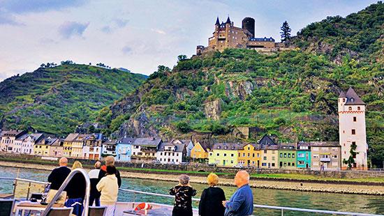 RhineRiver landscape