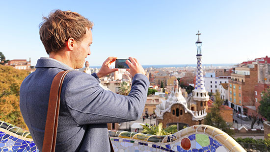 barcelona cameraphone