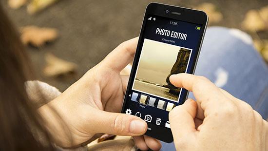 phone camera edit