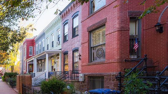 washingtondc colorful neighborhood