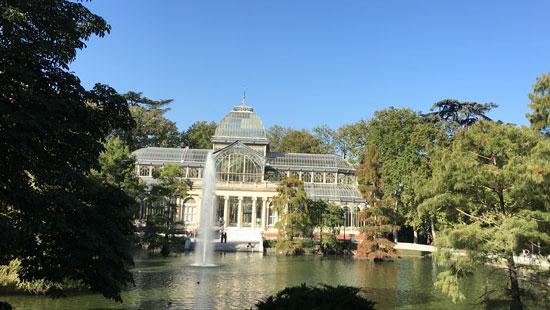 Glass Palace El Retiro Park