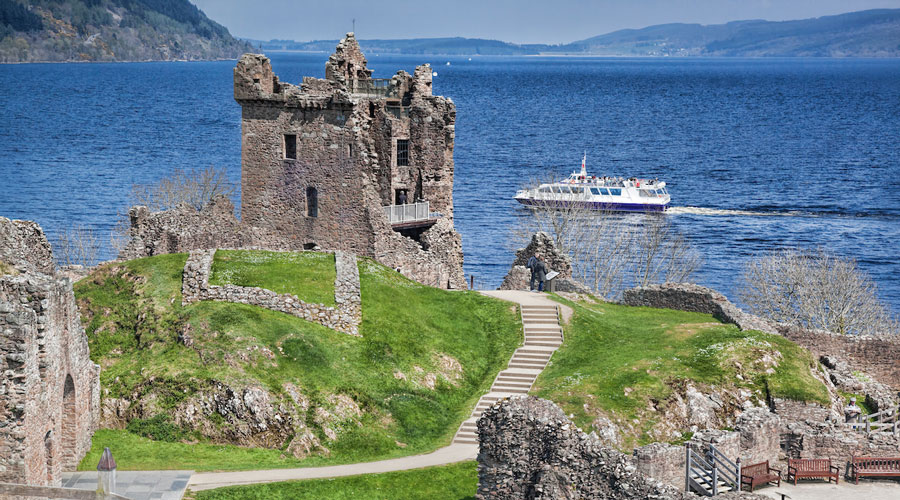 Urquhart Castle on LochNess