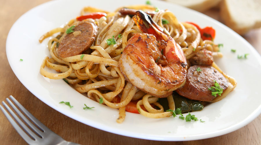Shrimp Jambalaya Pasta 35664123 AdobeStockRF