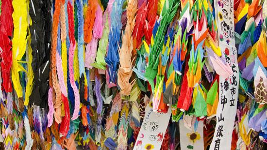 hiroshima paper cranes
