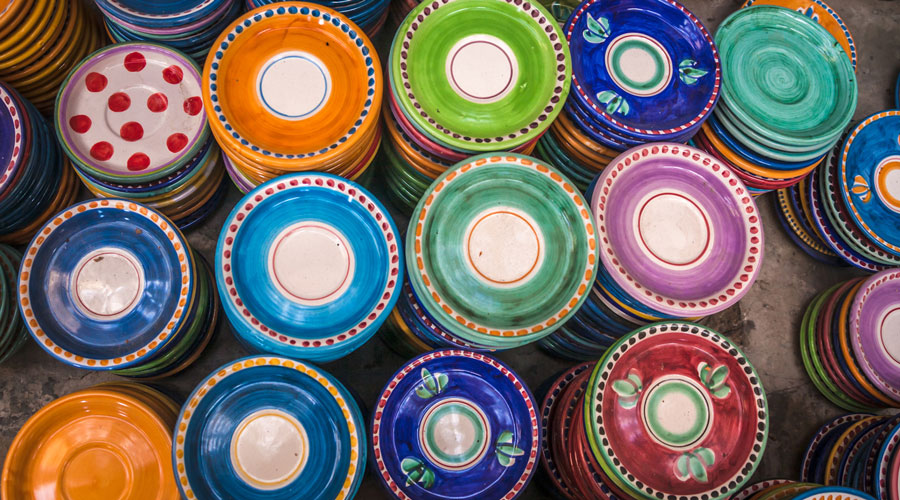 Ceramic Dishes Amalfi Coast