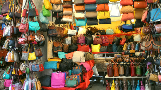 leather goods in Italy