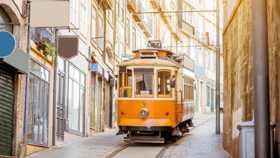 Portugal trolley