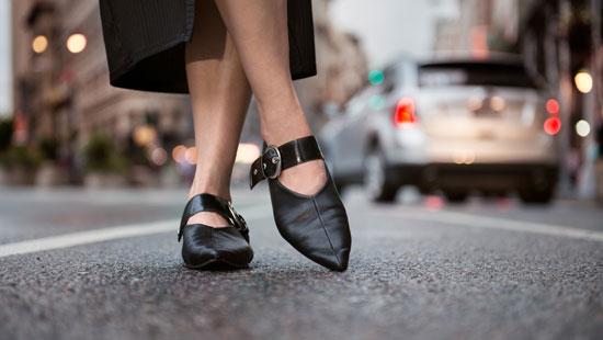 Stylish European shoes