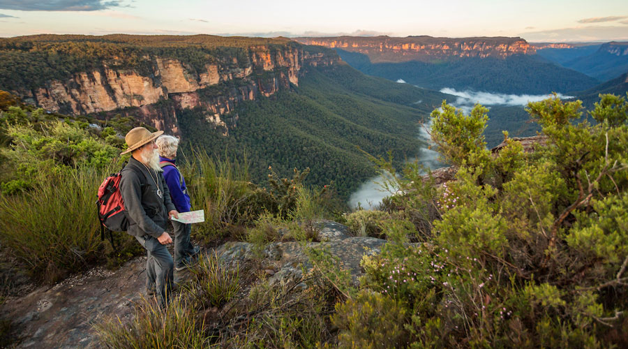 Couple in Blue Mountains