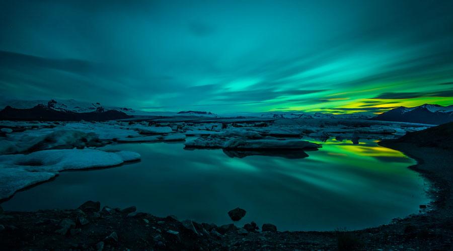 Iceland Greenland Glaciers