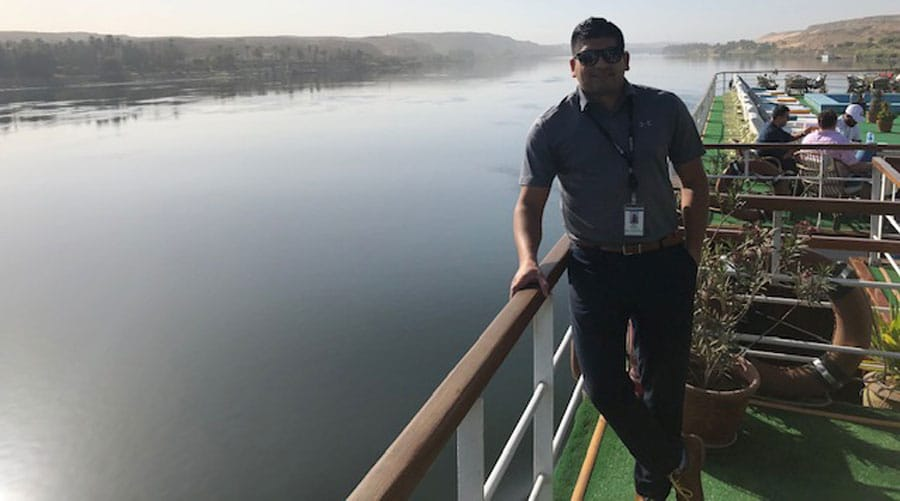 Ryan on the Nile
