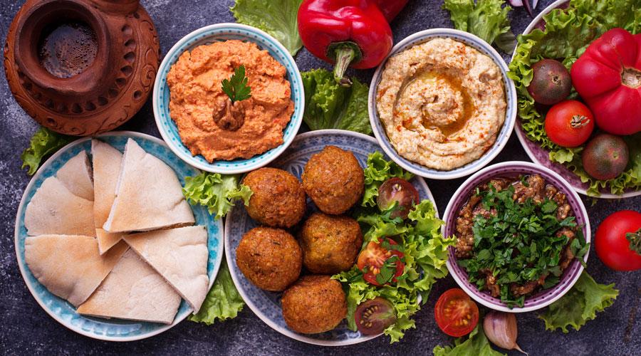 Mezze Jordan food