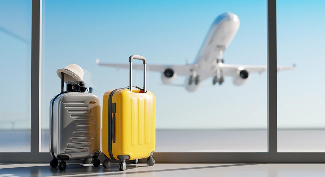 airplane luggage