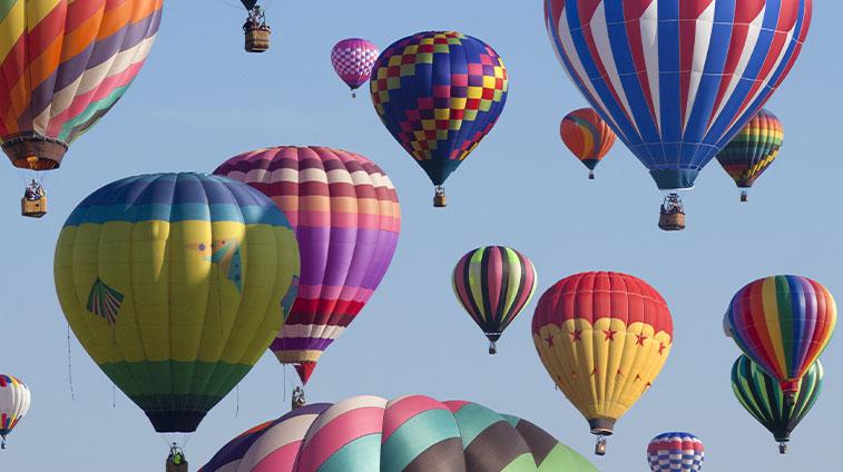 Hot Air Balloons Albuquerque Balloon Festival