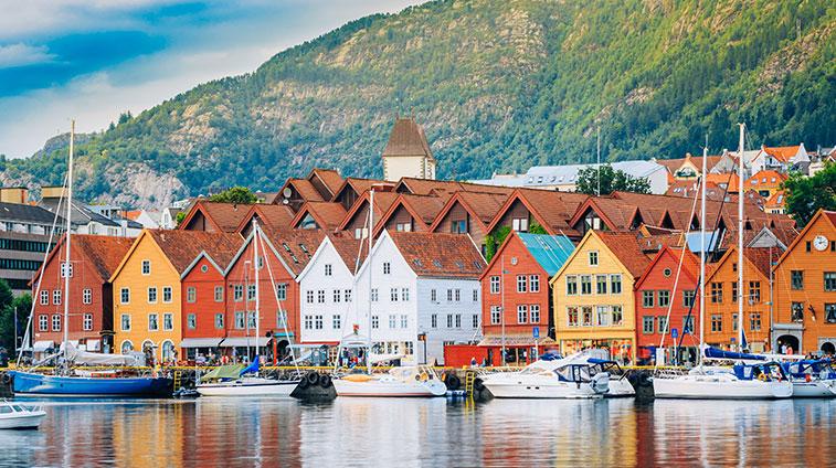 Spectacular Scandinavia Bryggen Bergen Norway