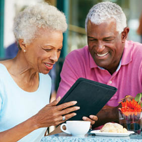 Senior Couple Using Tablet Com 39954055 BigstockRF 18493