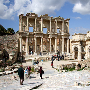 Visit The Ruins Of Ephesus, Where Paul The Apostle Spent Three Years During  His Ministry.