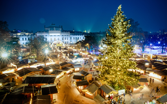 magic christmas market