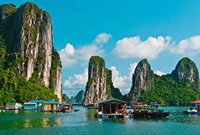 Halong Bay Fishing - Vietnam