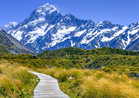 Mt. Cook - New Zealand - Collette