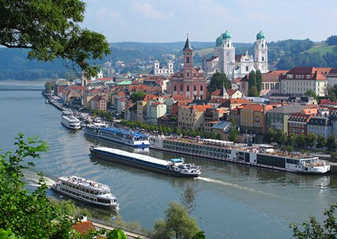 Passau City View