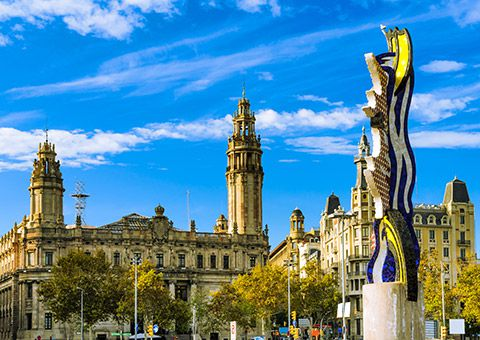 Barcelona Tower - Spain