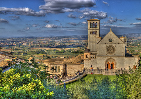 Assisi - Collette