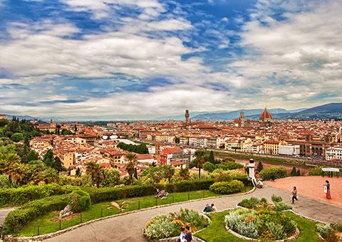 Florence Cityscape - Collette
