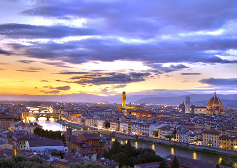 Florence Sunset - Collette