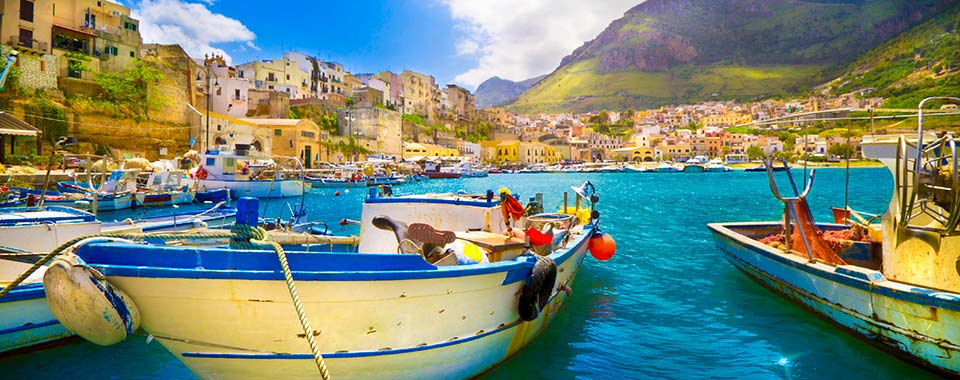 Sicily Harbor - Collette