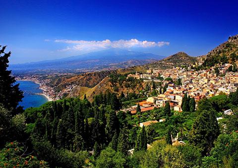 Taormina Landscape - Collette