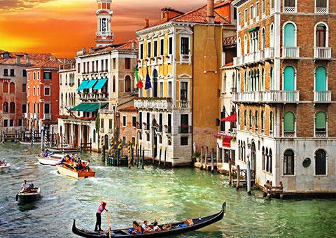 Venice Dusk - Collette