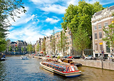 Amsterdam Canals - Collette