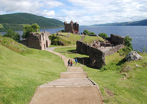 Urquhart Castle - Collette