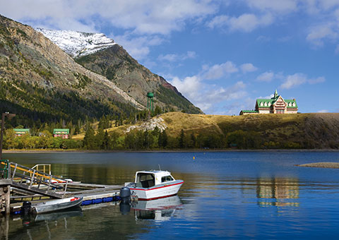 Waterton Lakes - Alberta - Canada
