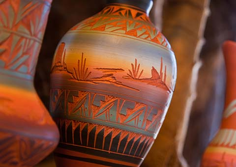 Indian Pottery - Arizona - Collette