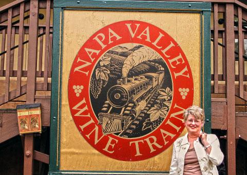 Napa Valley Train Depot - California - Collette