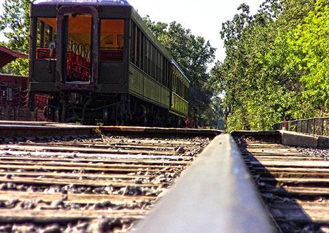 Rail Town Tracks - California - Collette